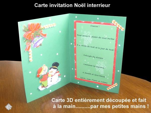 Activité PARENT ENFANT Bricolage Cartes de Noël   Regroupement des
